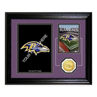 Baltimore Ravens Fan Memories Desktop Photo Mint Frame