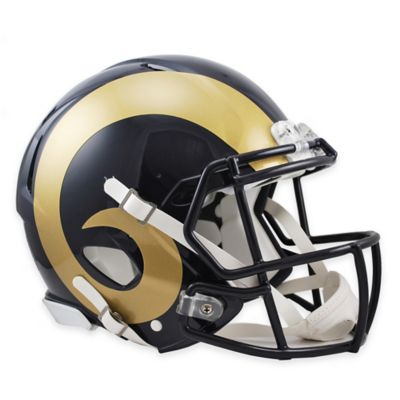 Riddell® St. Louis Rams Authentic Speed Full Size Football Helmet