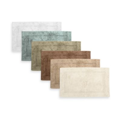 Park B. Smith® Watershed Zero Twist Pebble Border 24-Inch x 40-Inch Bath Rug in Linen