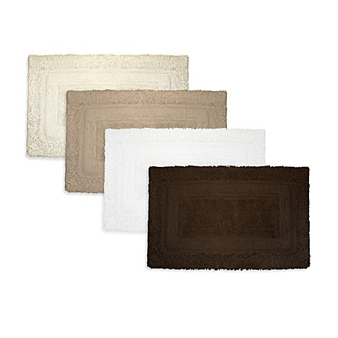 Ultra Spa by Park B. Smith® 20-Inch x 30-Inch Deluxe Border Bath Rugs