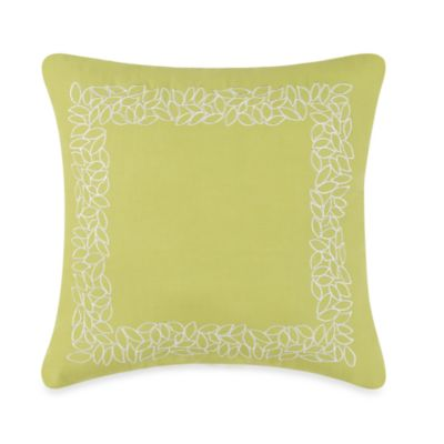 Steve Madden Chelsea Embroidered Square Toss Pillow