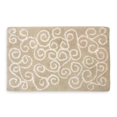 Ultra Spa by Park B. Smith® Symphony Bath Rugs in Linen