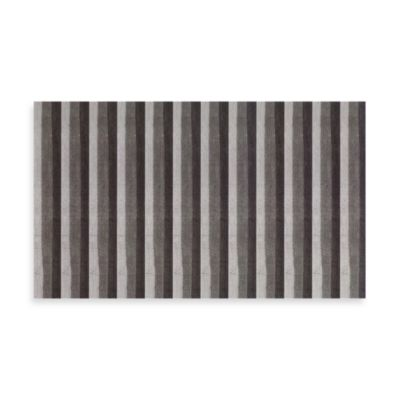 Ultra Spa by Park B. Smith® 20-Inch x 30-Inch Park Ridge Stripe Bath Rug