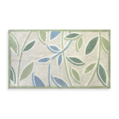 Ultra Spa by Park B. Smith® Tea Leaves 1-Foot 8-Inch x 2-Foot 6-Inch Bath Rug in Natural