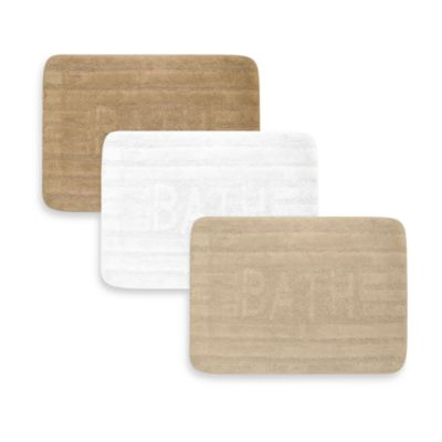 Ultra Spa by Park B. Smith® 17-Inch x 24-Inch Bath Rug - Linen