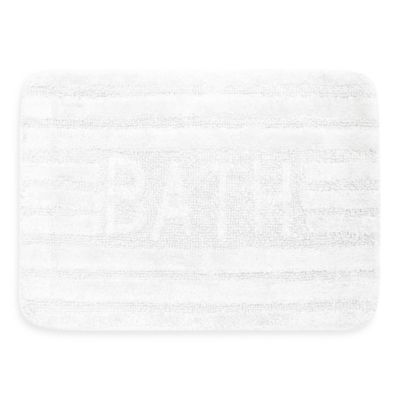 Ultra Spa by Park B. Smith® 17-Inch x 24-Inch Bath Rug - White