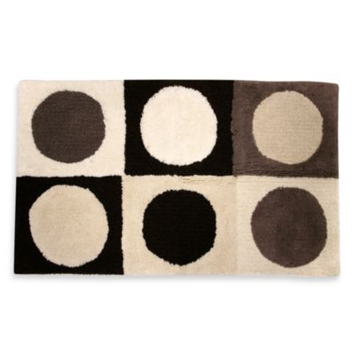 Ultra Spa by Park B. Smith® Magic Plush Boxes Bath Rugs in Celadon