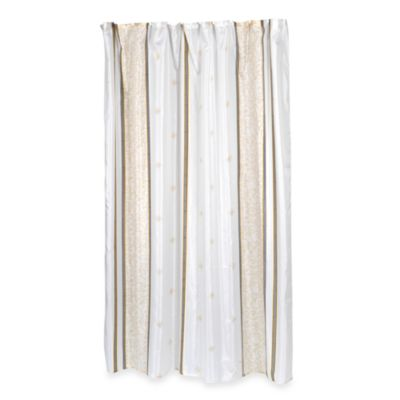 Ashley 70-Inch x 84-Inch Fabric Shower Curtain