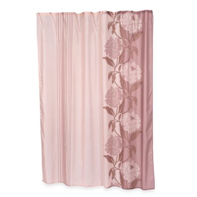 Carnation Home Fashions Chelsea Shower Curtain