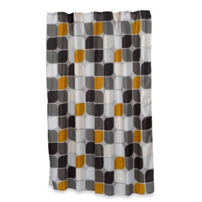 Carnation Home Fashions Metro Shower Curtain