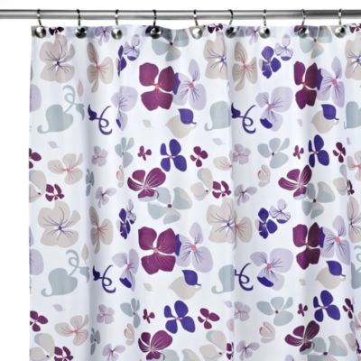 72 Purple Shower Curtain