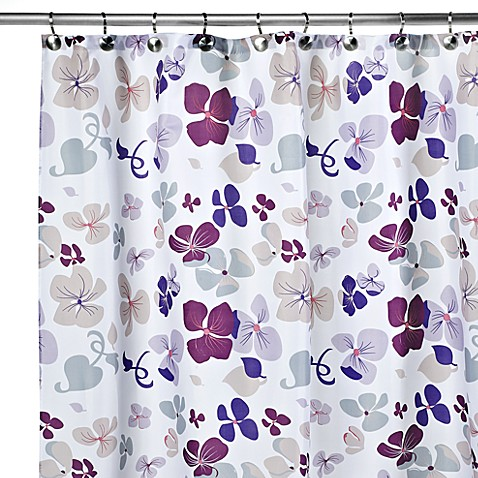 Carnation Home Fashions Joanne 108 Inch X 72 Inch Fabric Shower Curtain