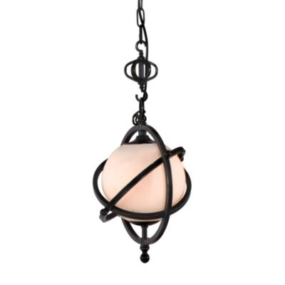 Zuo Era Topaz Ceiling Lamp in Antique Black Gold