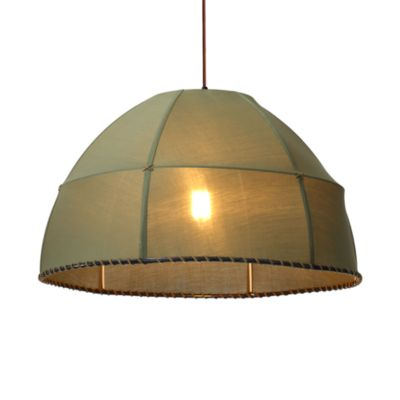Zuo® Era Marble Ceiling Lamp in Pea Green