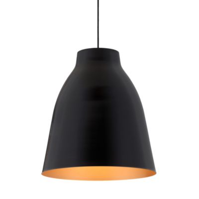 Zuo® Era Bronze Ceiling Lamp in Matte Black