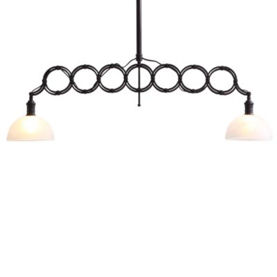 ZUO® Era Jade Ceiling Lamp in Antique Black Gold