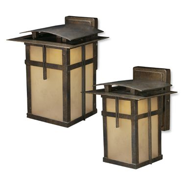 ELK Lighting San Fernando 1-Light Large Outdoor Sconce in Hazelnut Bronze