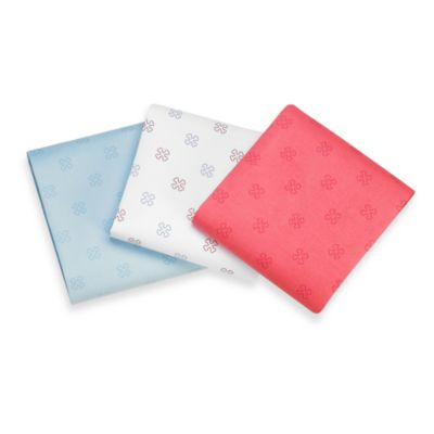 The Shrunks Bones Fitted Sheet in Pink