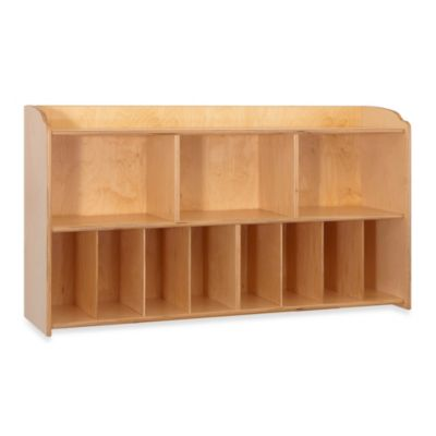 Foundations® Serenity Diaper Natural Organizer Wall Unit