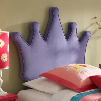 Princess Crown Twin Bed Headboard