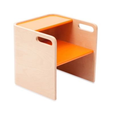 bloom® pogo™ Kids 3-in-1 Step Stool in Natural/Harvest Orange