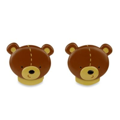 NoJo® Bear 2-Pack Wall Decor Clips