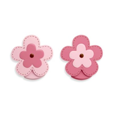 NoJo® Flowers 2-Pack Wall Décor Clips