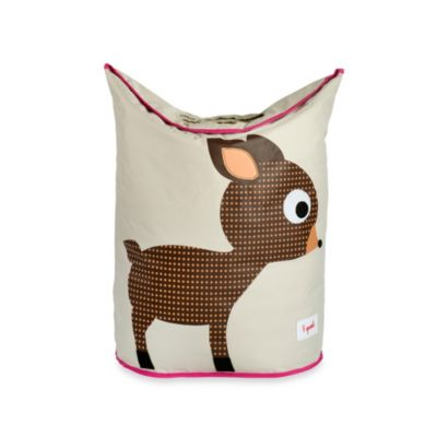 3 Sprouts Laundry Hamper in Brown Deer
