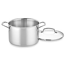 Cuisinart® Chef's Classic™ 5.75-Quart Stainless Steel Dutch Oven/Stock Pot