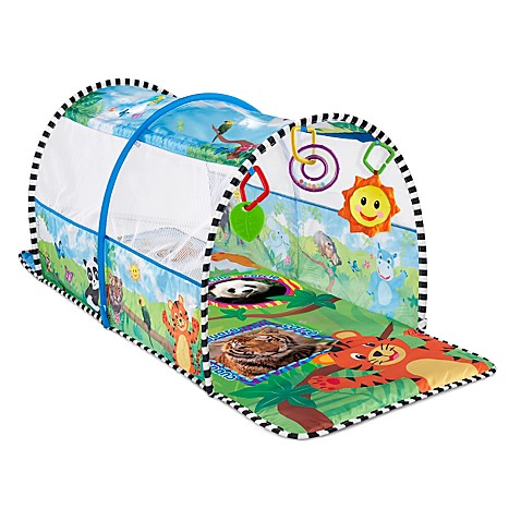 Baby Einstein™ 2-in-1 Safari Adventure Gym & Tunnel™