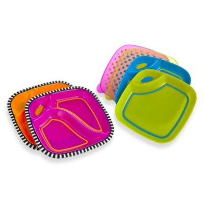 Sassy® Dippin' Dinner Plate Set