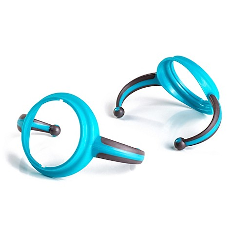 Joovy® Dood 2-Pack Sippy Cup Handles in Turquoise
