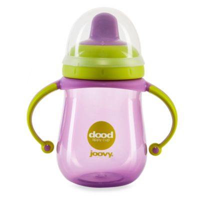 Joovy® Dood 9-Ounce Sippy Cup Drinking Cup in Purpleness
