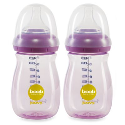Joovy® Boob 9-Ounce Baby Bottle in Purpleness