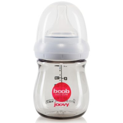 Joovy® Boob 5-Ounce Baby Bottle in Grey