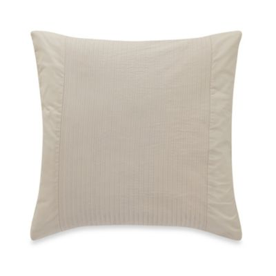 Barbara Barry® Simplicity Stitch 18-Inch Square Throw Pillow in Silver Birch