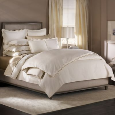 Barbara Barry Dream Peaceful Pique Full/Queen Duvet Cover in Moonglow