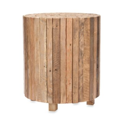 Safavieh Richmond Round Teak End Table