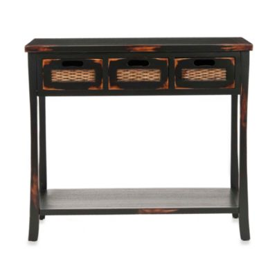 Safavieh Autumn 3-Drawer Console