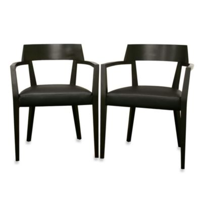 Laine Modern Dining Chair in Brown (Set of 2)