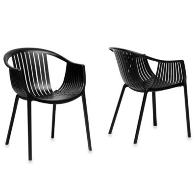 Grafton Dining Chairs in Black (Set of 2)