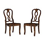 Tenderloin Chair in Distressed Natura Finish (Set of 2)