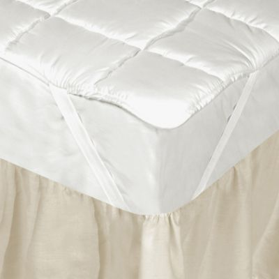 Downtown Company Silk Filled Twin Mattress Pad