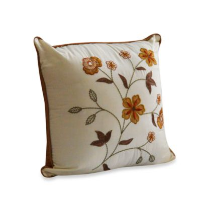 Ivory Square Pillow