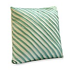 Nostalgia Home™ Madison Square Toss Pillow in Aqua and Khaki