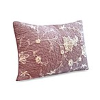 image of Nostalgia Home™ Viola Purple Standard Pillow Sham