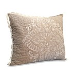 Nostalgia Home™ Nicola Standard Pillow Sham in Taupe