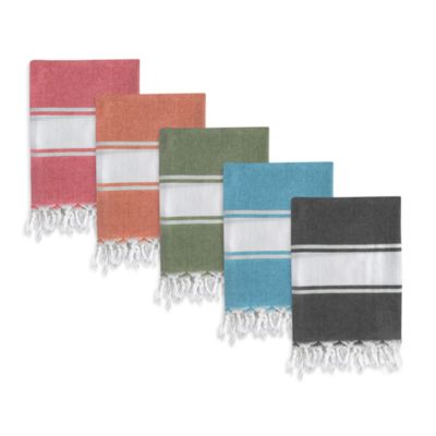 Turkish Fouta Towels in Colors