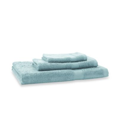 Bamboo Viscose Dreamy Blue 3-Piece Towel Set