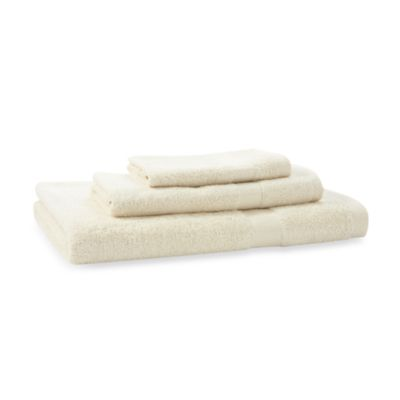 Bamboo Viscose Ecru 3-Piece Towel Set